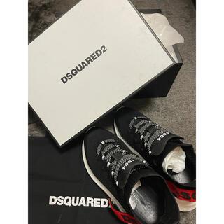 ディースクエアード(DSQUARED2)のディースクエアード メンズ スニーカー26.5cm 2021年モデル 美品(スニーカー)
