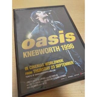 oasis KNEBWORTH 1996 映画ポスター チラシ(印刷物)