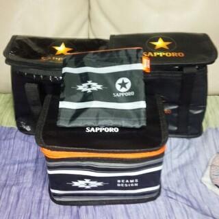 サッポロ(サッポロ)のSAPPORO BEAMSデザイン保冷バッグ計4点(ノベルティグッズ)
