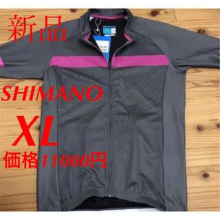 SHIMANO - 新品 SHIMANO シマノ サイクルシャツ 自転車 バイクウェア