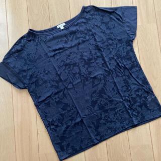 ギャップ(GAP)のGap 花柄Tシャツ カットソー XS(Tシャツ(半袖/袖なし))