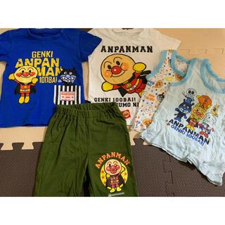 バンダイ(BANDAI)のベビー キッズ服 シャツ アンパンマン 80cm(Tシャツ)