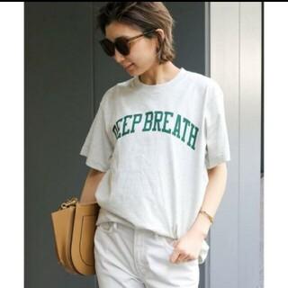 ドゥーズィエムクラス(DEUXIEME CLASSE)のドゥーズィエムクラス SKIN DEEP BREATH Tシャツ(Tシャツ(半袖/袖なし))