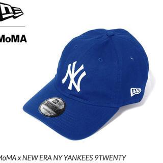 モマ(MOMA)の【新品・未使用】NY ヤンキースキャップ ブルー MoMA Edition(キャップ)