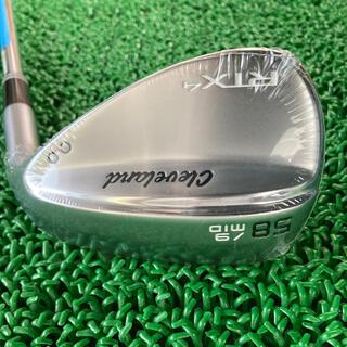 クリーブランドゴルフ(Cleveland Golf)のクリーブランド RTX4 ウェッジ 新品未使用品 58° MID バウンス(クラブ)
