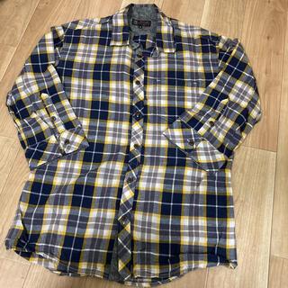 ミッシェルクラン(MICHEL KLEIN)のメンズ ミッシェルクラン チェックシャツ 七分袖(シャツ)