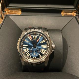 ロジェデュブイ(ROGER DUBUIS)のロジェ・デュブイ エクスカリバー45 オートマティックブルー45ミリ 箱付き(腕時計(アナログ))