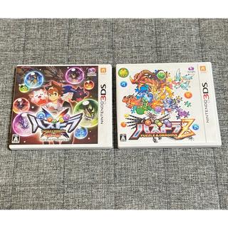 ニンテンドー3DS(ニンテンドー3DS)のパズドラ 3DSソフト 2本セット(携帯用ゲームソフト)