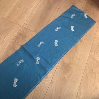 ミナペルホネン(mina perhonen)のミナペルホネン choucho ブルー はぎれ 10匹(生地/糸)