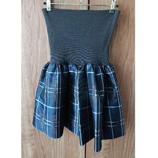 ツモリチサト(TSUMORI CHISATO)のツモリチサトのチェック柄スカート(ミニスカート)