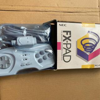 エヌイーシー(NEC)のNEC FX-PAD新品。(家庭用ゲームソフト)
