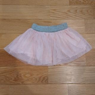 チュールスカート 80cm GAP ベビーピンク フリフリスカート 女の子