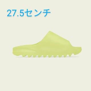 アディダス(adidas)のYEEZY SLIDE GLOW GREEN 27.5センチ(サンダル)