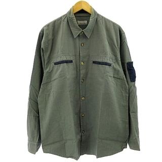 エンポリオアルマーニ(Emporio Armani)のエンポリオアルマーニ EMPORIO ARMANI ワークシャツ 48 約L(シャツ)