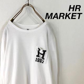 HOLLYWOOD RANCH MARKET - Hollywood ranch market  ハリラン ロゴ ポケット ロンt
