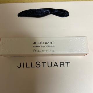ジルスチュアート(JILLSTUART)の大人気 ジルスチュアートムースブロウマスカラ 08ソフトピンク 完売品 新品(眉マスカラ)