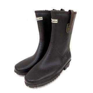 コロンビア(Columbia)のコロンビア レインブーツ ラディ ミッド 長靴 ダークブラウン 26cm(ブーツ)