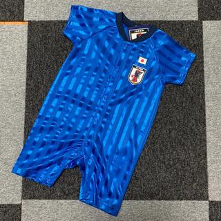 バンダイ(BANDAI)の新品 サッカー ユニフォーム 日本代表 侍ジャパン 80 ロンパース (ロンパース)