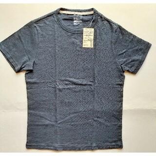 ムジルシリョウヒン(MUJI (無印良品))のMUJI(無印良品)☆クルーネックTシャツ 半袖  ダークネイビー 送料無料 (Tシャツ/カットソー(半袖/袖なし))