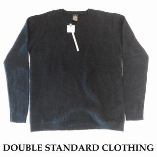 ダブルスタンダードクロージング(DOUBLE STANDARD CLOTHING)の新品 タグ付 DOUBLE STANDARD CLOTHING モヘア セーター(ニット/セーター)