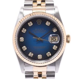 ロレックス(ROLEX)のロレックス  デイトジャスト 10Pダイヤ 腕時計(腕時計(アナログ))