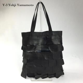 Yohji Yamamoto - Y-3 ワイスリー ヨウジヤマモト トートバッグ ハンドバッグ 本革レザー