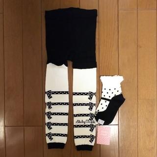 シャーリーテンプル(Shirley Temple)のシャーリーテンプル  レギンス 靴下 セット  105(靴下/タイツ)