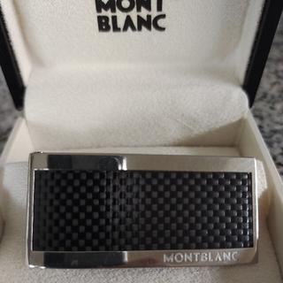 MONTBLANC - Montblanc 104731 スチール&ブラックカーボン マネークリップ