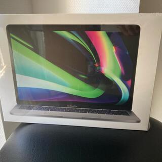 アップル(Apple)の新品未開封 MacBook Pro スペースグレー 13インチ M1チップ(ノートPC)