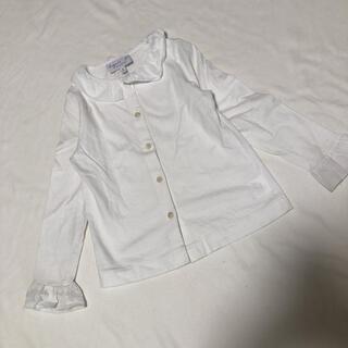アニエスベー(agnes b.)のアニエスベー アンファン 定番 ブラウス カットソー 6ans 120cm(Tシャツ/カットソー)