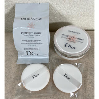クリスチャンディオール(Christian Dior)のディオール スノー パーフェクト ライト クッション 000(化粧下地)