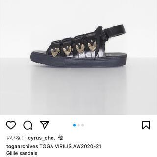 TOGA - Toga pulla トーガ サンダル Gillie レースアップ