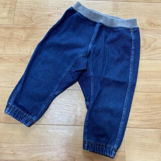 ムジルシリョウヒン(MUJI (無印良品))のご専用。無印 らくらく動けるデニム  テーパード パンツ 80(パンツ)