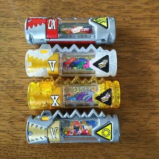 バンダイ(BANDAI)の獣電戦隊 キョウリュウジャー獣電池レア DX、V、X、サンバルカン(特撮)