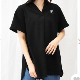 フィラ(FILA)の【FILA】冷感ポロシャツ・ロング丈(ポロシャツ)