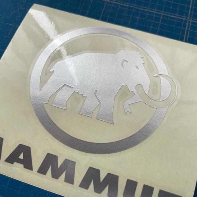 Mammut(マムート)のカッティングシート加工 スポーツ/アウトドアのアウトドア(登山用品)の商品写真