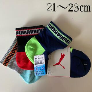 PUMA - 新品プーマ 靴下 21〜23㎝ キッズ