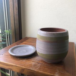 アッシュカラーの植木鉢(プランター)