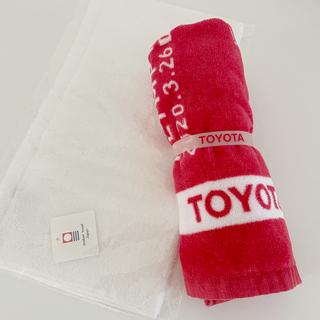 トヨタ(トヨタ)のトヨタ オリンピック タオル 今治タオル(タオル/バス用品)