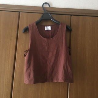 エゴイスト(EGOIST)の韓国ファッションへそだしトップス(Tシャツ(半袖/袖なし))