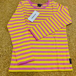 マリメッコ(marimekko)のMarimekko PITKAHIHA カットソー キッズ120〜130cm(Tシャツ/カットソー)
