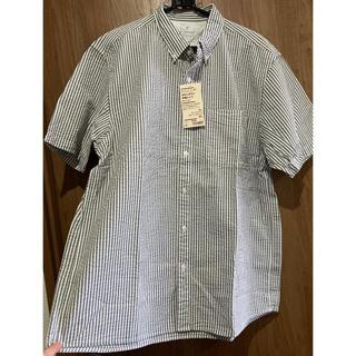 ムジルシリョウヒン(MUJI (無印良品))のタグ付き新品未使用 メンズ 無印 半袖シャツ XL(シャツ)