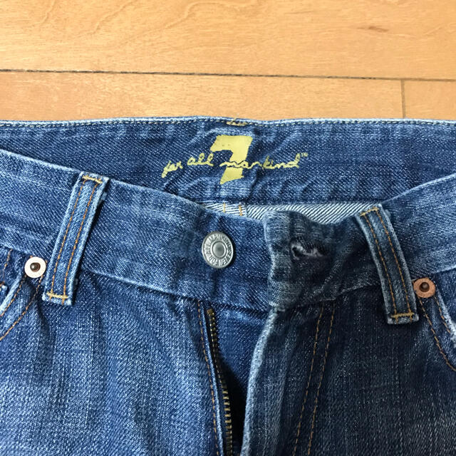 7 for all mankind(セブンフォーオールマンカインド)のセブンフォーオールマンカインド フレアデニム サイズ27 レディースのパンツ(デニム/ジーンズ)の商品写真
