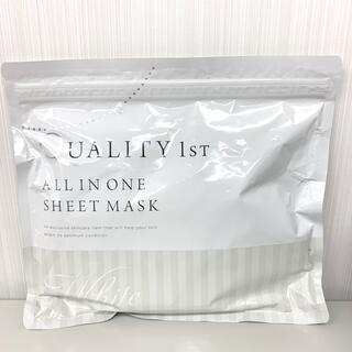 QUALITY FIRST - 新品未開封!クオリティファースト オールインワンシートマスク ホワイト 30枚