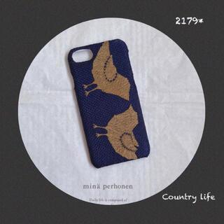 ミナペルホネン(mina perhonen)の2179* 現品販売  iPhone8.7.SE2 ミナペルホネン ハードケース(iPhoneケース)