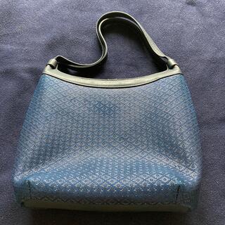 インデンヤ(印傳屋)の印傳屋印傳ハンドバッグ濃紺/紺色良品(ハンドバッグ)