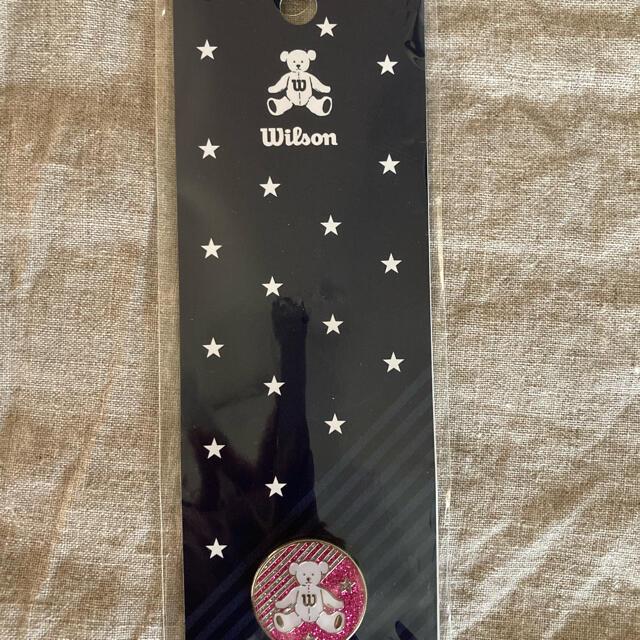wilson(ウィルソン)のウィルソンベア ゴルフ グリーンマーカー スポーツ/アウトドアのゴルフ(その他)の商品写真