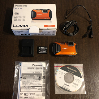 Panasonic - Panasonic LUMIX FT DMC-FT5-D 防水・耐衝撃