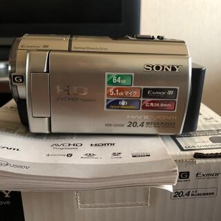 SONY - ソニー ビデオカメラ HDR-CX590V