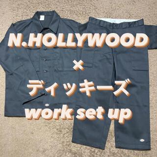 エヌハリウッド(N.HOOLYWOOD)の19SS【名作】N.HOLLYWOOD× Dickies セットアップ(カバーオール)
